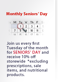 Monthly Seniors' Day